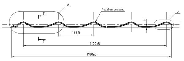 Металлочерепица Монтеррей 1