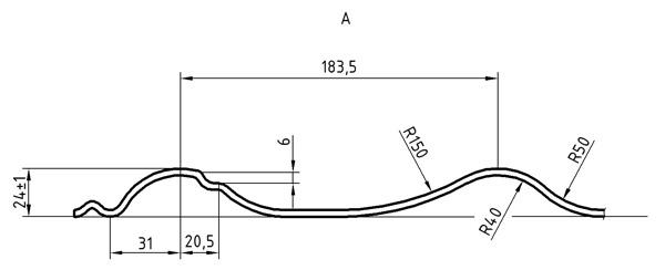 Металлочерепица Монтеррей 2