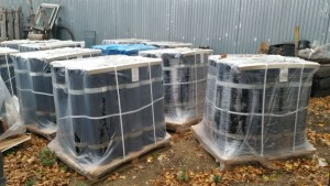 Открытый склад рулонных материалов в г.Вологда, производства ТКК Оникс