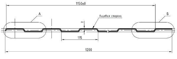 Профнастил C8-1150