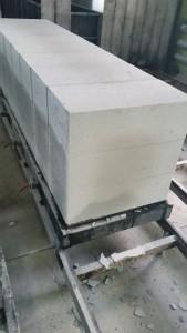 Блоки в массиве после пропарки