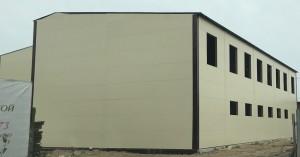 Готовый вариант здания без окон
